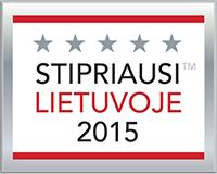 euroinstal, stirpiausi Lietuvoje 2015, apdovanojimas, rekvizitai.lt